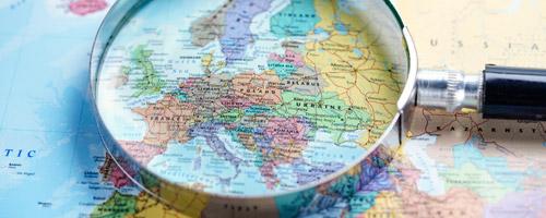 Po celé evropě