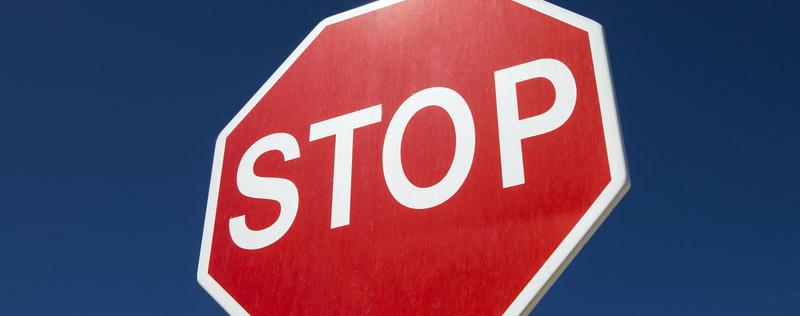 Funkce STOP