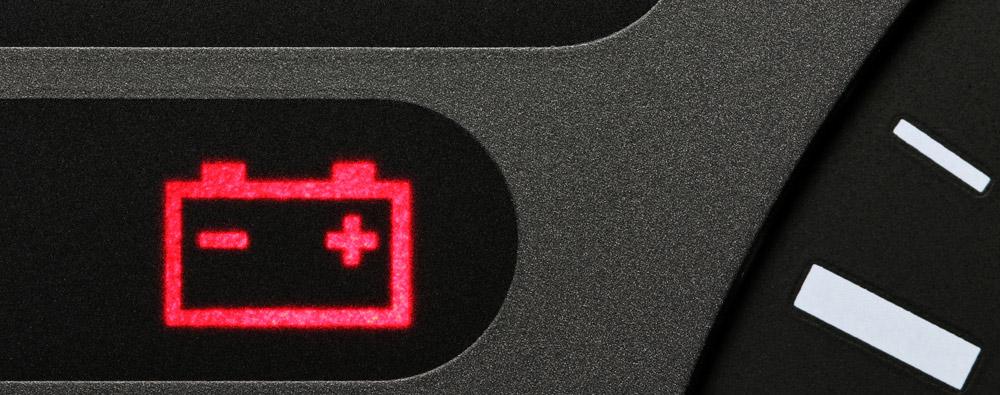 Hlídání stavu baterie